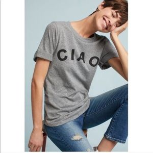 Anthropologie sol angeles CIAO short sleeve